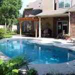 pergola & swimming pool