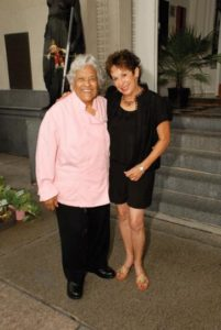 photo from feast with the stars leah chase and beverly katz