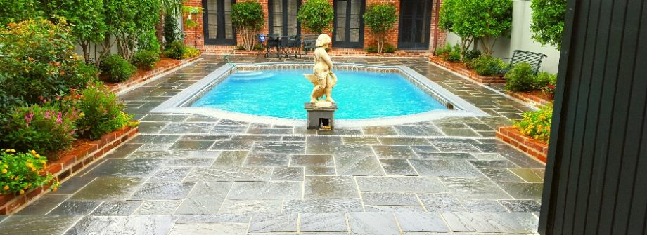 French Quarter pool after renovation