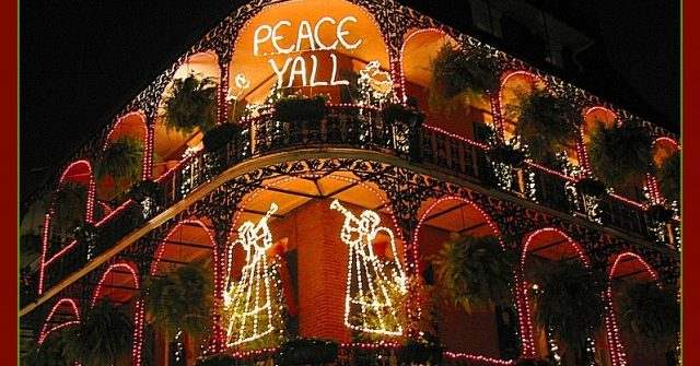 Peace Ya'll New Orleans Christmas